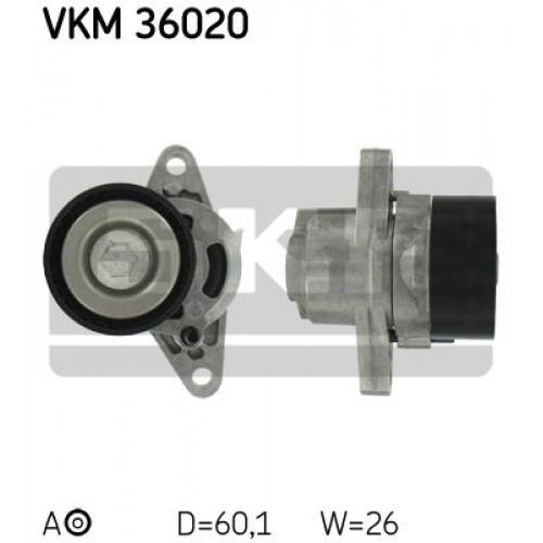 Τεντωτήρας RENAULT CLIO 2001 - 2005 SKF VKM 36020