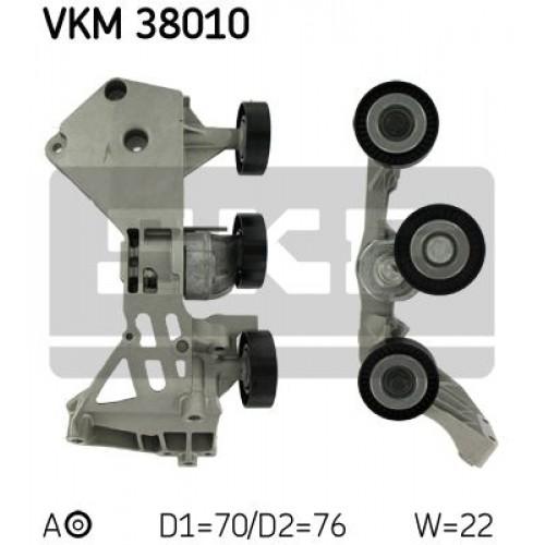 Τεντωτήρας MERCEDES A CLASS 2001 - 2004 ( W168 ) SKF VKM 38010
