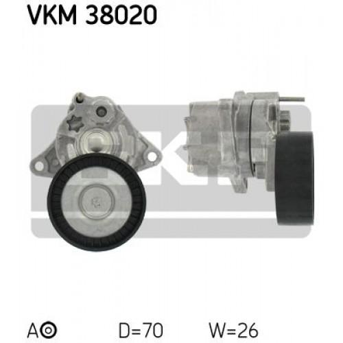 Τεντωτήρας MERCEDES C CLASS 2000 - 2003 ( W203 ) SKF VKM 38020