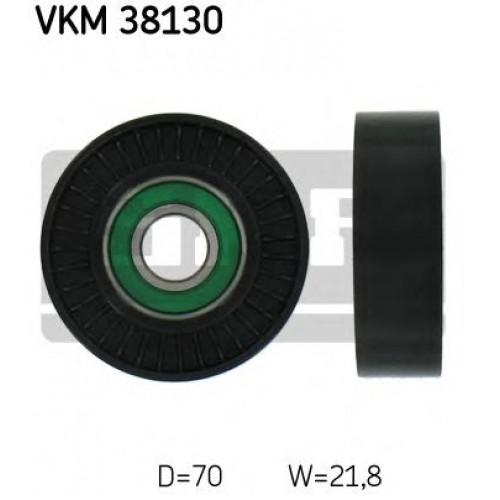 Τροχαλία παρέκκλισης & ενδιάμεσος τροχός MERCEDES A CLASS 2001 - 2004 ( W168 ) SKF VKM 38130