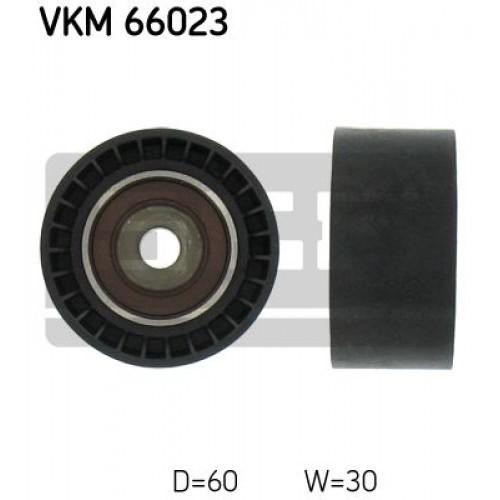 Τροχαλία παρέκκλισης & ενδιάμεσος τροχός SKF VKM 66023