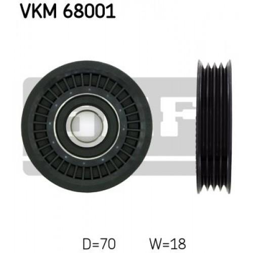 Τροχαλία παρέκκλισης & ενδιάμεσος τροχός SUBARU FORESTER 2000 - 2002 ( SF ) SKF VKM 68001