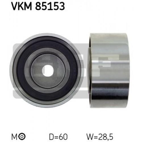 Τροχαλία παρέκκλισης & ενδιάμεσος τροχός HYUNDAI i30 2007 - 2012 SKF VKM 85153