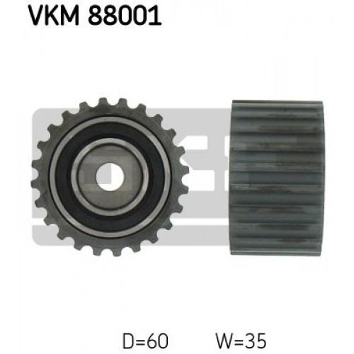 Τροχαλία παρέκκλισης & ενδιάμεσος τροχός SUBARU FORESTER 2000 - 2002 ( SF ) SKF VKM 88001