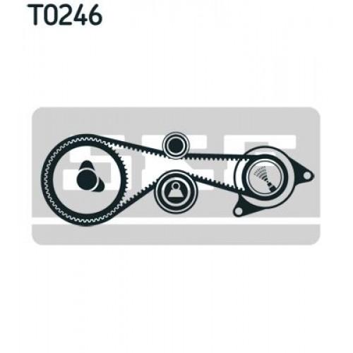 Σετ οδοντωτού ιμάντα VW TOUAREG 2003 - 2007 ( 7L ) SKF VKMA 01332