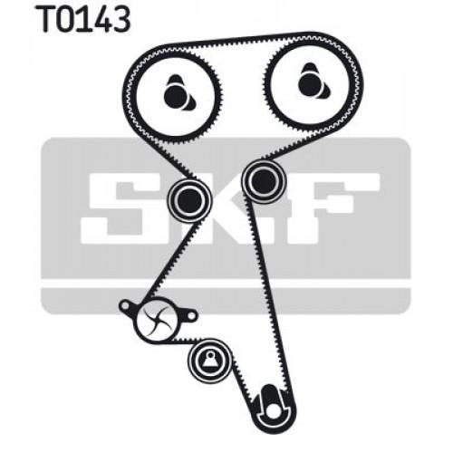 Σετ οδοντωτού ιμάντα FIAT PUNTO 2003 - 2011 ( 188 ) SKF VKMA 02184