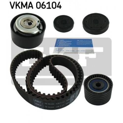 Σετ οδοντωτού ιμάντα RENAULT CLIO 2006 - 2009 SKF VKMA 06104