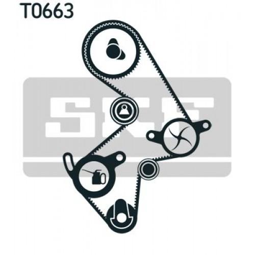 Σετ οδοντωτού ιμάντα TOYOTA CELICA 1986 - 1990 ( T160 ) SKF VKMA 91003