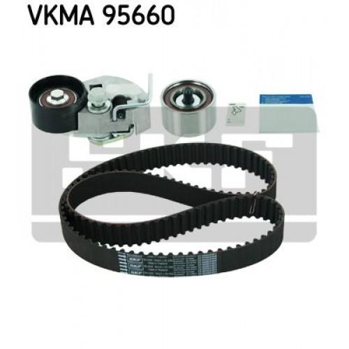 Σετ οδοντωτού ιμάντα HYUNDAI ACCENT 2003 - 2005 ( CG ) ( LC2 ) SKF VKMA 95660