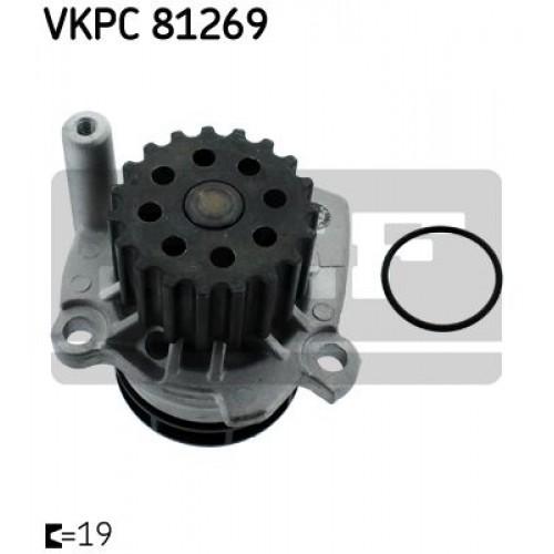 Αντλία νερού VW GOLF 2008 - 2013 ( Mk6 ) SKF VKPC 81269