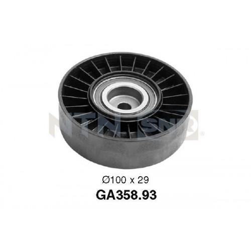 Τροχαλία παρέκκλισης & ενδιάμεσος τροχός ALFA ROMEO 145 1994 - 1999 ( 930 ) SNR GA358.93