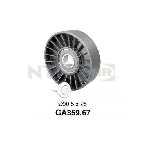 Τροχαλία παρέκκλισης & ενδιάμεσος τροχός PEUGEOT 306 1993 - 1996 ( N3 ) SNR GA359.67
