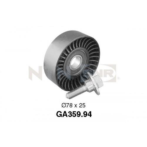 Τροχαλία παρέκκλισης & ενδιάμεσος τροχός PEUGEOT 206 2000 - 2008 ( CC ) SNR GA359.94