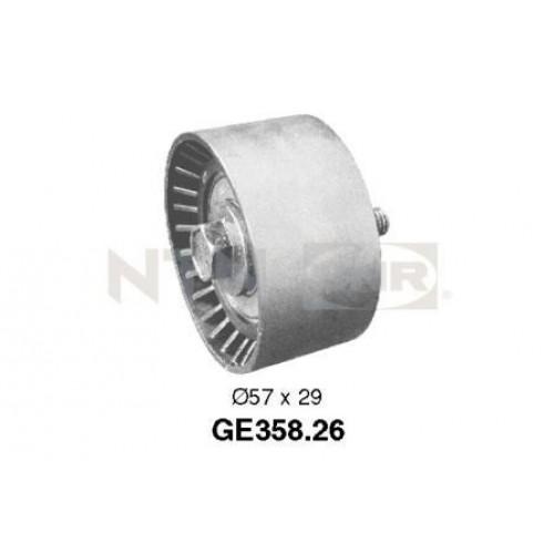 Τροχαλία παρέκκλισης & ενδιάμεσος τροχός FIAT BRAVA 1995 - 2003 ( 182 ) SNR GE358.26