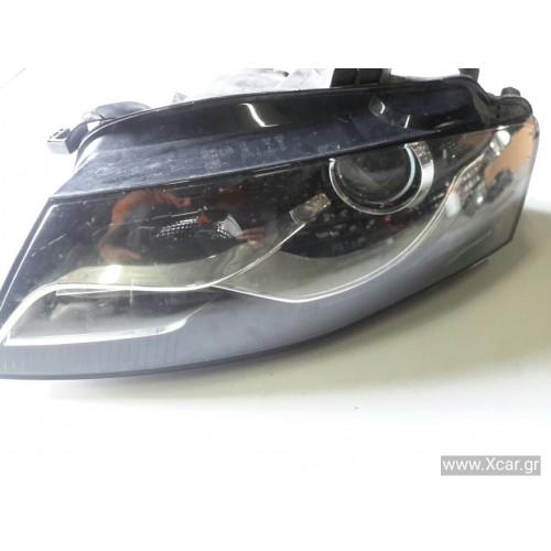 Φανάρι Εμπρός Xenon Εξυπνο AUDI A4 2008 - 2011 ( 8K ) TYC Αριστερά 20B464