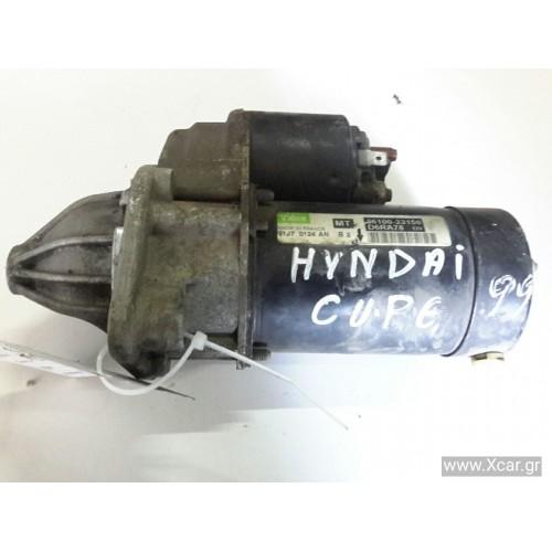 Μίζα HYUNDAI COUPE 1999 - 2001 ( RD ) VALEO 3610023150