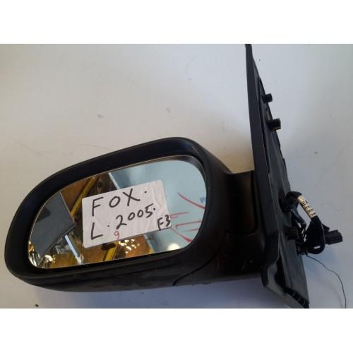 Καθρέφτης Ηλεκτρικός Θερμαινόμενος Βαφόμενος VW FOX 2005 - 2012 ( 5Z1 ) VOLKSWAGEN Αριστερά XC970