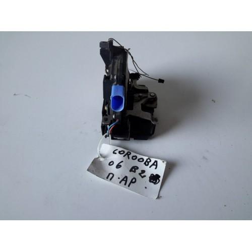 Κλειδαριά Πόρτας Ηλεκτρομαγνητική VW POLO 2002 - 2005 ( 9N ) VOLKSWAGEN Πίσω Αριστερά XC1486