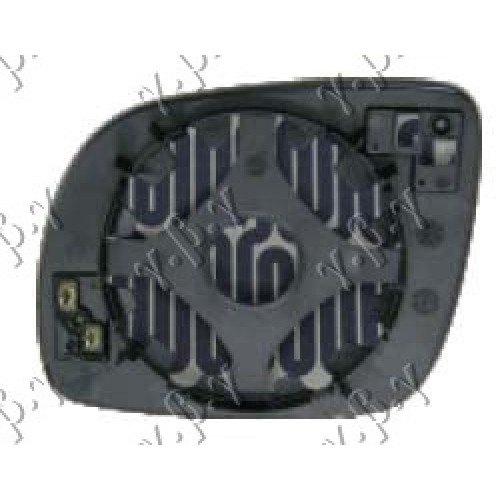 Κρύσταλλο Καθρέφτη Θερμαινόμενο SEAT CORDOBA 1999 - 2002 ( 6K ) Δεξιά 015407601