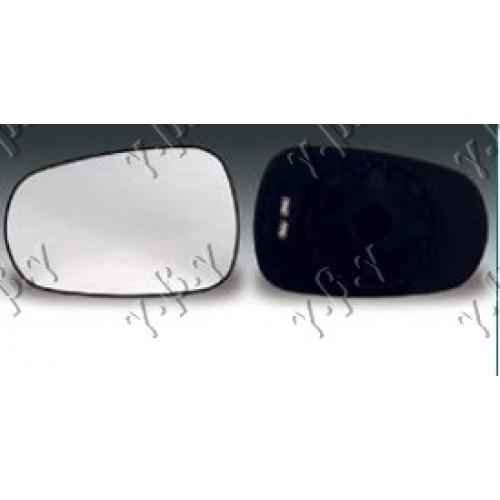 Κρύσταλλο Καθρέφτη Θερμαινόμενο RENAULT MEGANE 1999 - 2002 Δεξιά 017407611
