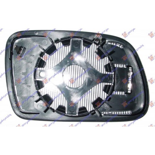 Κρύσταλλο Καθρέφτη PEUGEOT 407 2004 - 2008 ( 6D_ ) Αριστερά 021207602