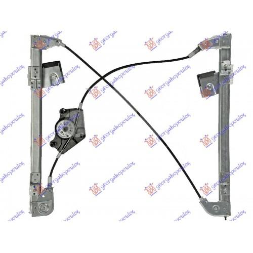 Γρύλος Παραθύρου Ηλεκτρικός Χωρίς Μοτέρ SEAT IBIZA 2002 - 2006 ( 6LZ ) Εμπρός Δεξιά 025307061