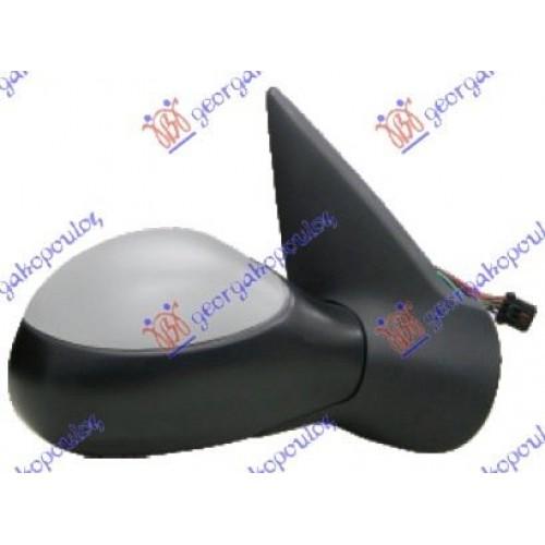 Καθρέπτης Ηλεκτρικός Θερμαινόμενος Βαφόμενος PEUGEOT 206 2000 - 2008 ( CC ) Δεξιά 025607591