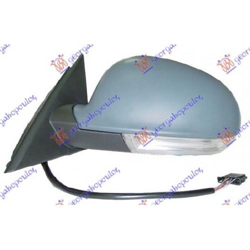 Καθρέπτης Ηλεκτρικός Θερμαινόμενος Ηλεκτρικά Ανακλινόμενος Βαφόμενος Με Φλας Φως Ασφαλείας SKODA SUPERB 2008 - 2013 ( 3T4/5 ) Αριστερά 745007502