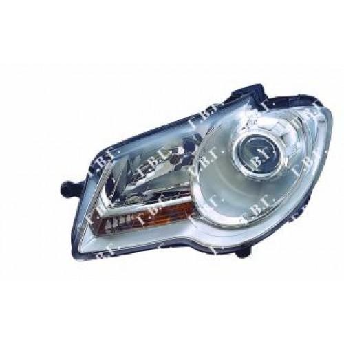 Φανάρι Εμπρός Ηλεκτρικό Με Μοτέρ VW TOURAN CROSS 2007 - 2010 Αριστερά 885105132